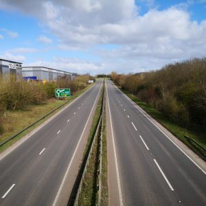 Empty Brackley Bypass
