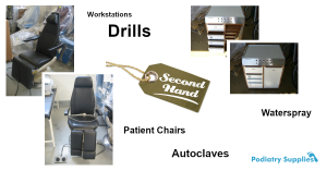 Second Hand Podiatry Equipment